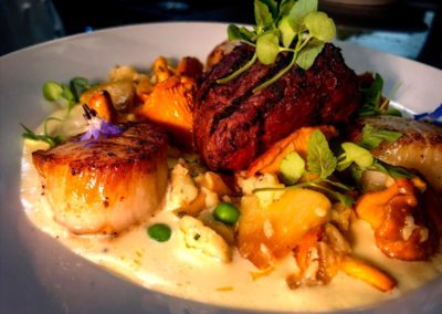 bison scallops
