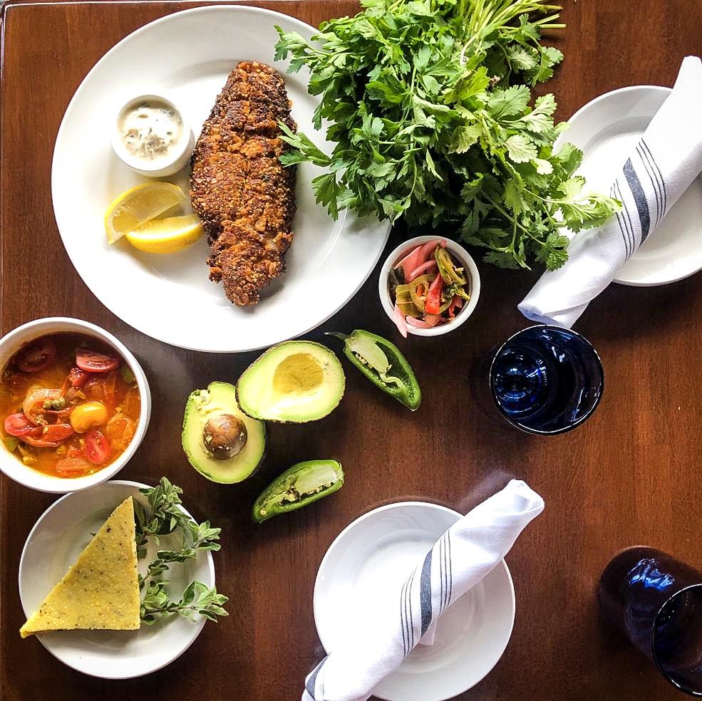 catfish with vera cruz sauce